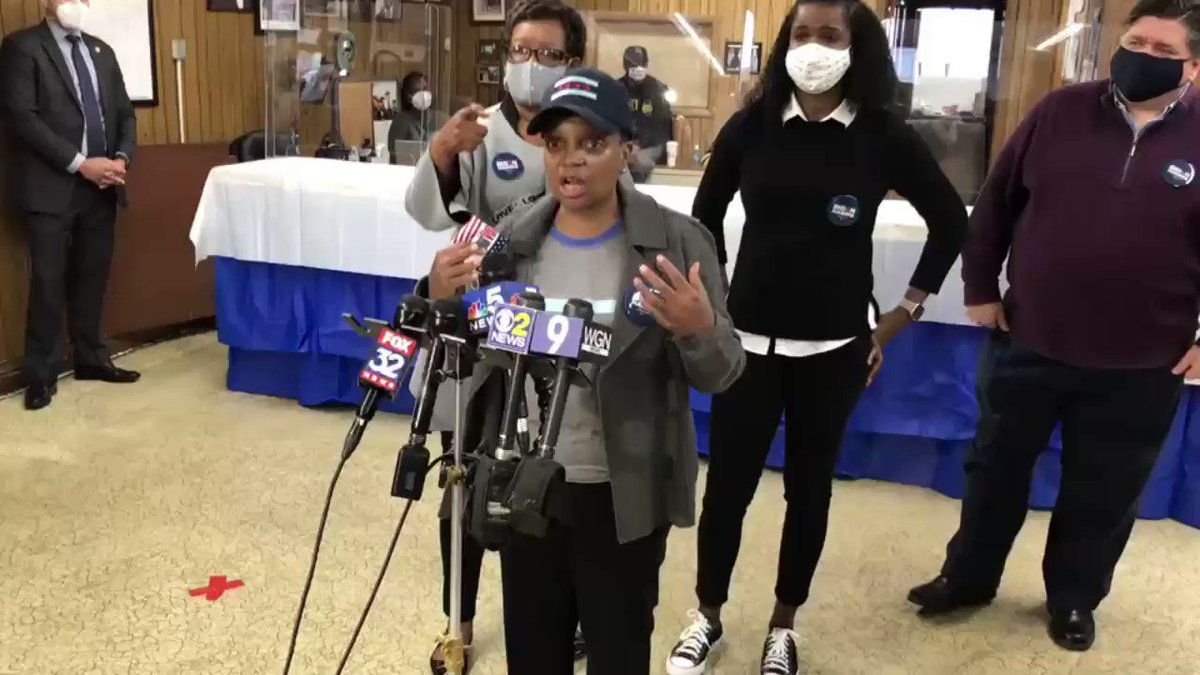 "Chicago Mayor Lori Lightfoot responds to President Trump appealing to Black (male) voters.  ""We cannot support this man who has absolutely wreaked havoc not only on our country but on our community."""