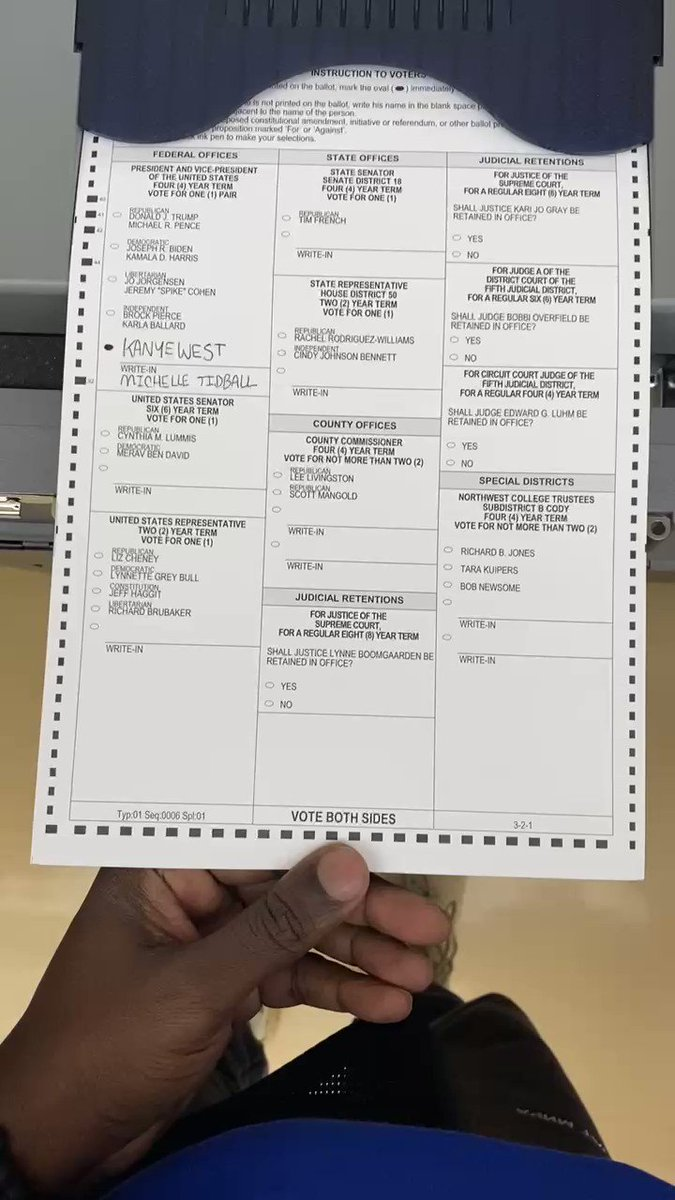 The first vote of my life         We are here to serve      We pray for every servant leader in the world  🕊 https://t.co/UWSrKslCt1