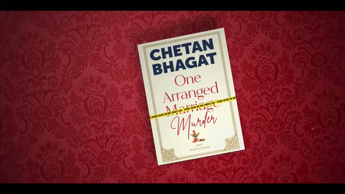 Happy Karva Chauth! Do read #onearrangedmurder, where a lot happened on - karva chauth!