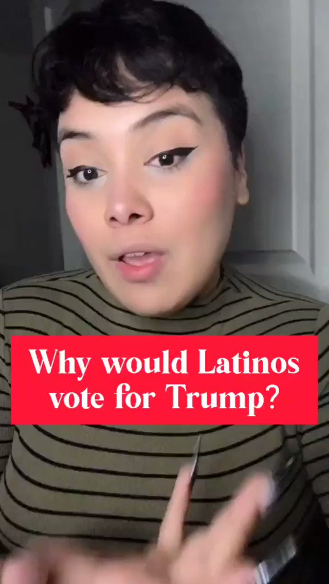 "Replying to @ishverduzco: ""Latino for Trump"" explained in 2 mins."
