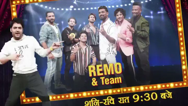 Replying to @KapilSharmaK9: #TheKapilSharmaShow presents @remodsouza n party dance wale 🥳 #puneetpathak @SalmanYKhan #sushantpujari #rahul #dharmesh #abhinav #logkyakahenge #tkss only on @SonyTV
