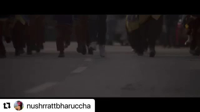#Repost • #NushratBharucha #KriTalent  ・・・ Be your own cheerleader! Pump it up with #LeChhalaang, song out now! 👇🏻    #KriEntertainment #HowardRosemeyer #LuvRanjan #BhushanKumar #AmazonPrimeVideo #ChhalaangOnPrime #SongOutNow