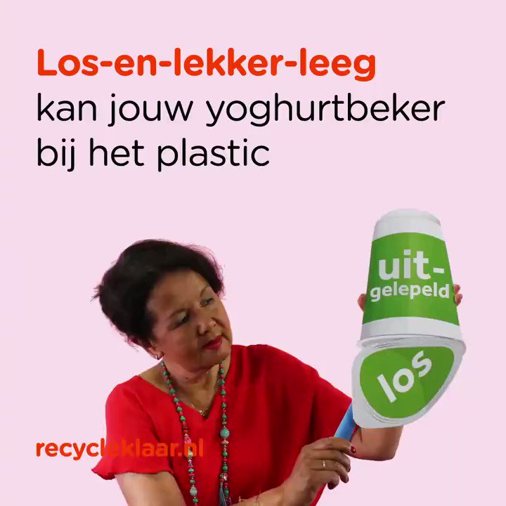 Image for the Tweet beginning: Lepel jij je bakje yoghurt