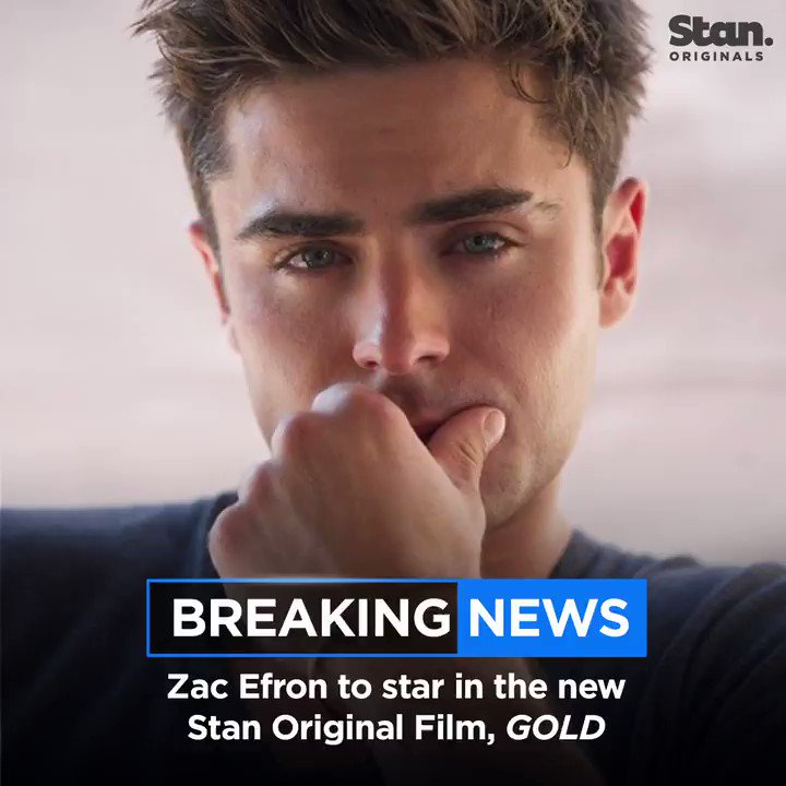 Production on our new Stan Original Film GOLD kicks off in South Australia this month. Joining @ZacEfron will be Aussie legends @theanthonyhayes and Susie Porter. #StanOriginals #GoldonStan