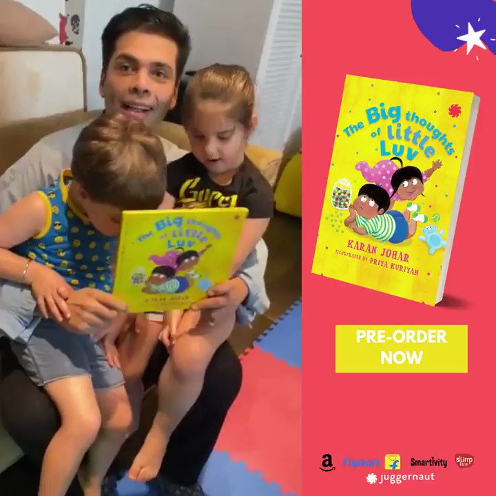 Phew - Yash & Roohi find the book funny! I hope Big Thoughts of Little Luv makes your little ones laugh just as much as these two! You can now pre-order the book on Amazon & Flipkart! ,