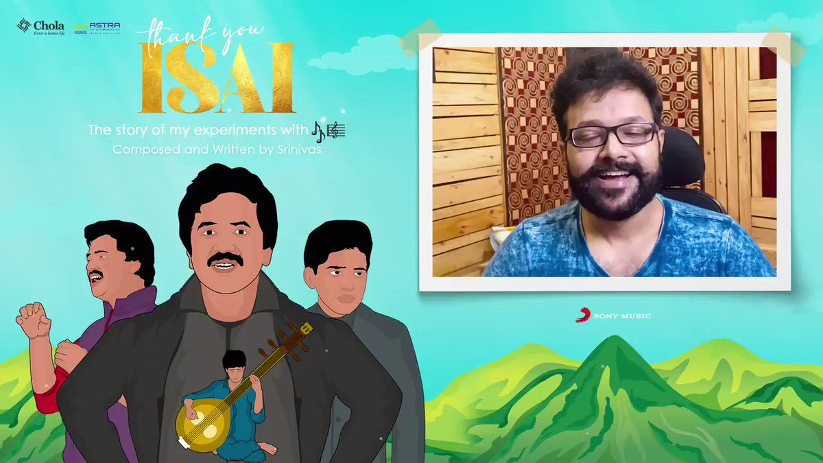 Here's @RahulNOfficial wishing @singersrinivas for #thankyouIsai which is all set to release tomorrow at 10am!  Stay Tuned 💫 @SonyMusicSouth @noiseandgrains     #srinivas #rahulnambiar #thankyouIsai #Silvertree