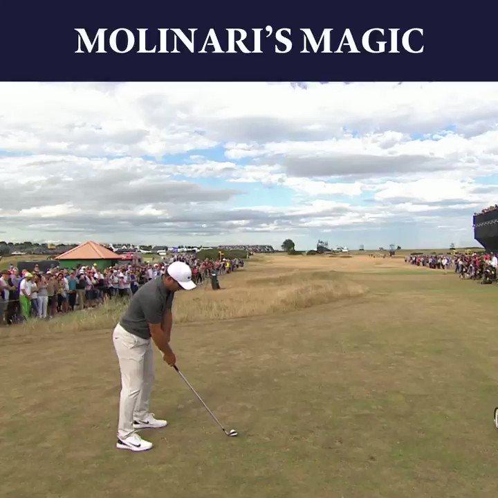 Exhibition golf from Molinari in 2018 🏌️♂️ Happy Birthday to Champion Golfer @F_Molinari 🏆