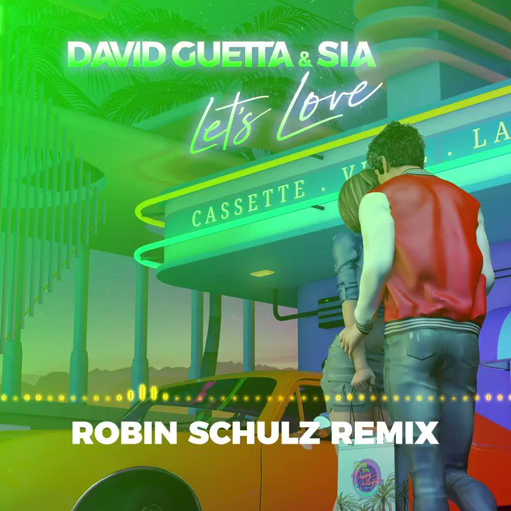 Check out this new remix I made for none other than @davidguetta and the incredible @Sia:  💖
