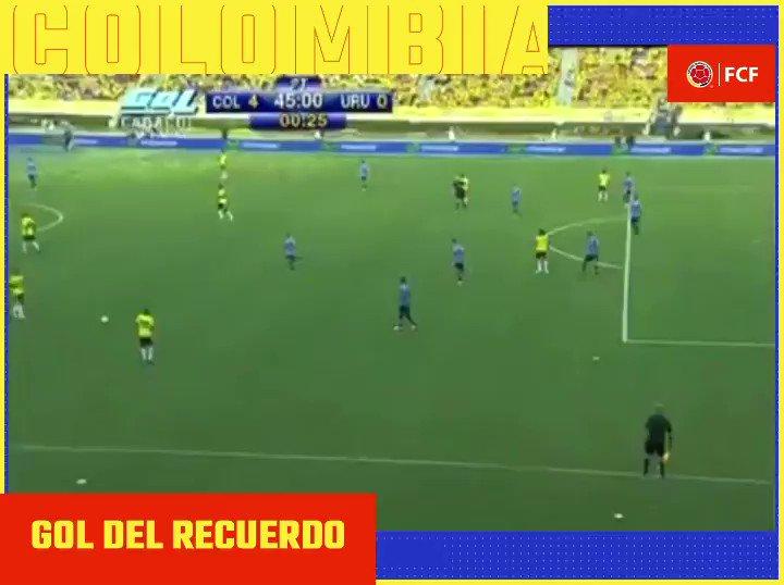 #GolDelRecuerdo ⚽️  Con este golazo de @camilozuniga18 sellamos nuestra victoria 4️⃣-0️⃣ vs Uruguay en 2012.  #VamosColombia🇨🇴