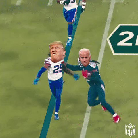 Replying to @NFL_Memes: The Election