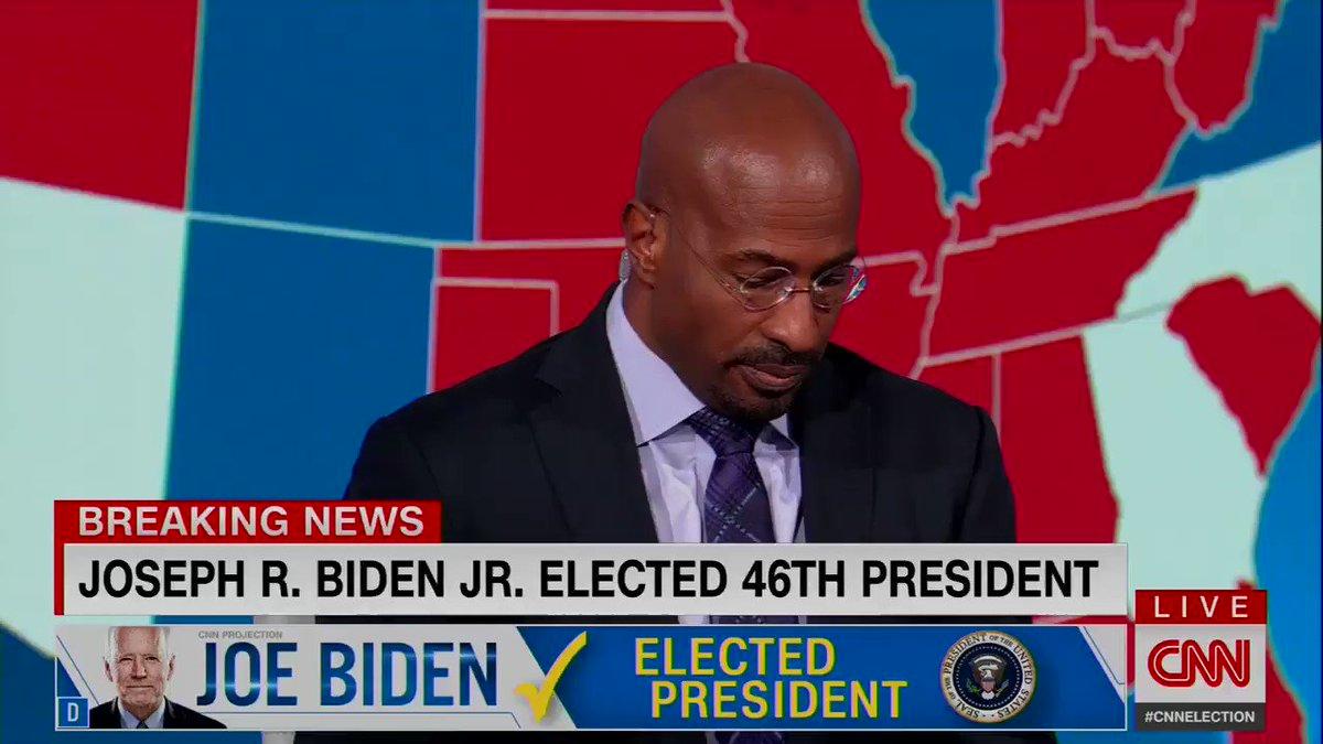 Watch Van Jones after the call for Biden. Just watch this.