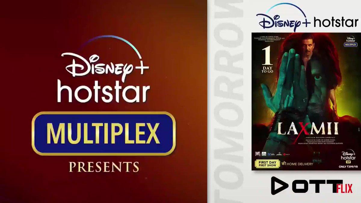 Laxmii (Laxmmi Bomb) Releasing Tomorrow on #laxmii #DisneyPlusHotstarMultiplex  #LaxmmiBomb #ottflix #ottrelease #DisneyPlus