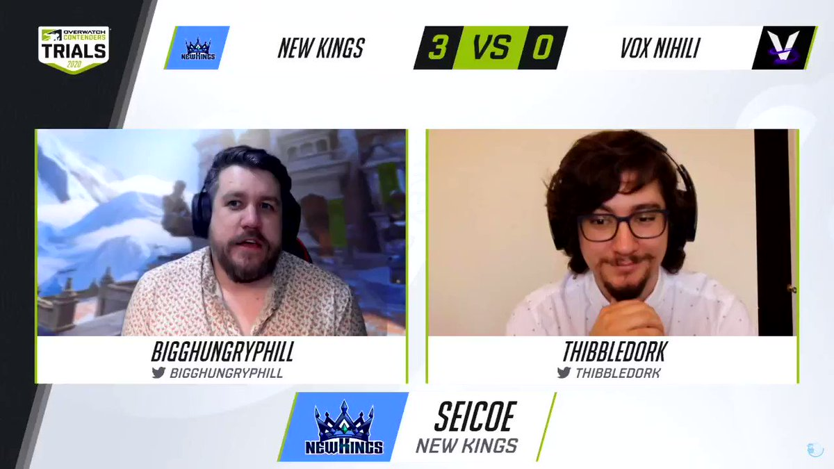 MB_official - No scrims, no L's.   @NewKings_OW maintain their win streak as they close out Trials with a 5-0 record. Next stop, Contenders! 🚦