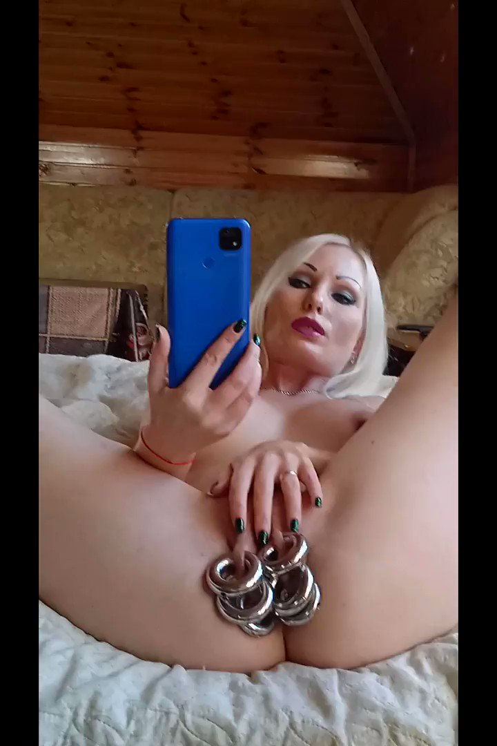 My pierced pussy wants to play