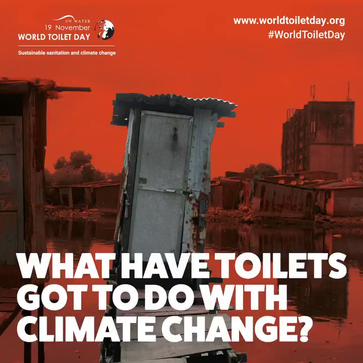 Wastewater and sludge from toilets contain valuable water, nutrients and energy. Sustainable sanitation systems make productive use of waste to safely boost agriculture and also reduce and capture emissions for greener energy.  #WorldToiletDay