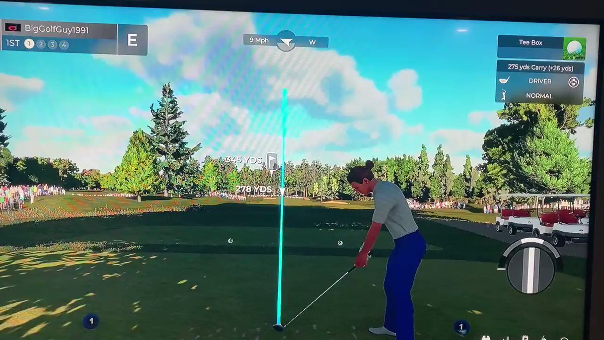 The first tee shot ever on the north course on @PGATOUR2K 🚀🚀🚀 https://t.co/R9sHhwP5Gh