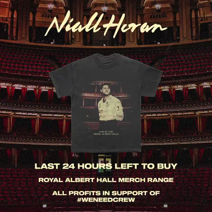 Time's running out to get merch from the show this past weekend . Make sure to get some and help donate to an incredible cause