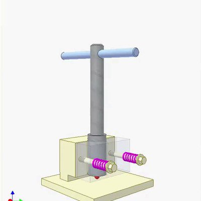 Checking Perpendicularity Between Shaft and Its Hole