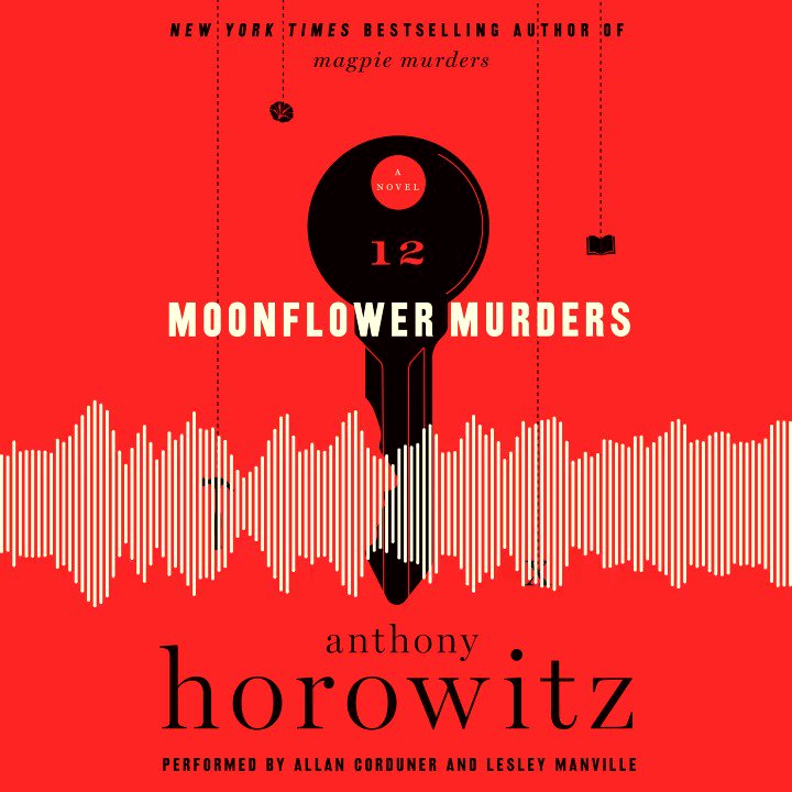 Famous literary detective Atticus Pund and Susan Ryeland return in MOONFLOWER MURDERS, Anthony Horowitz's sequel to Magpie Murders! Start listening to the mystery here:  @HarperCollins @harperbooks @AnthonyHorowitz