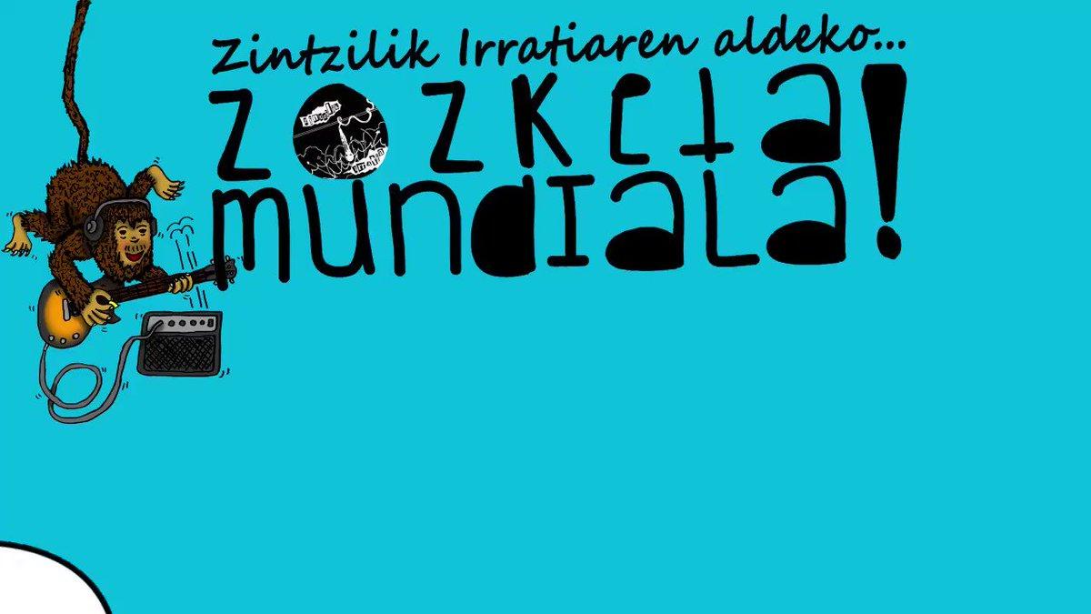 Image for the Tweet beginning: TXERRIMUÑO ERE HARI BATETIK ZINTZILIK