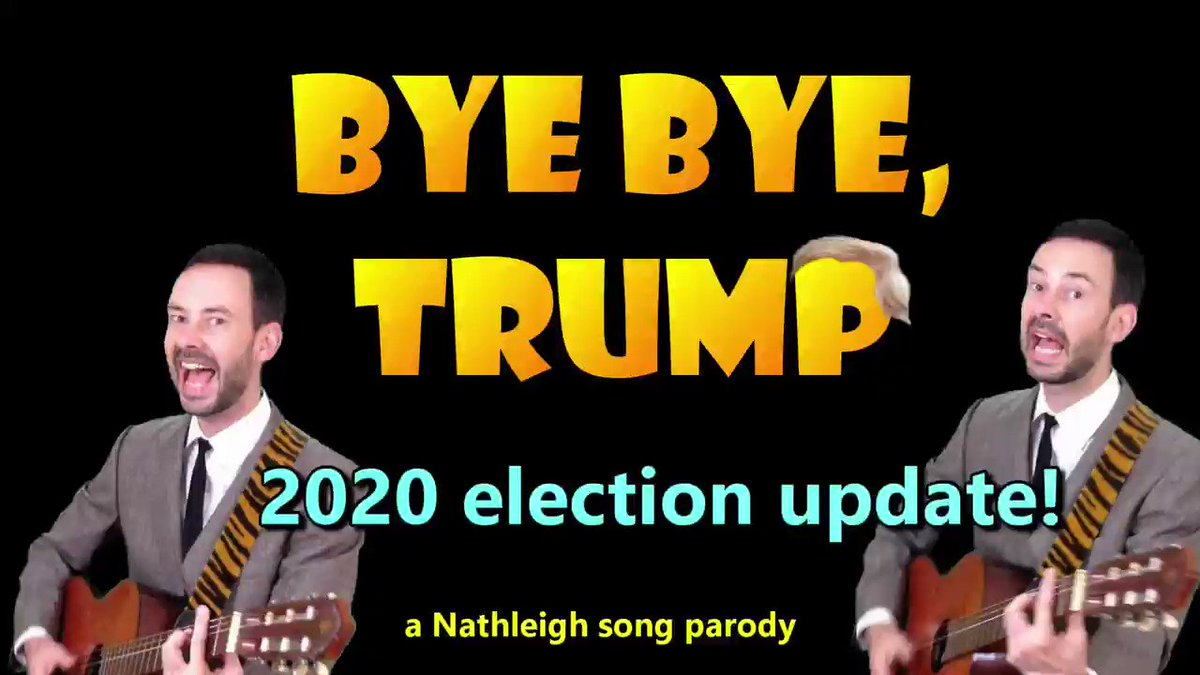 """#ByeByeTrump 🎶 Lost the popular vote Botched pandemic response $144m on golf trips No healthcare plan Twice impeached Obstruction of justice """"11780 votes"""" Attempted coup #IMPOTUS #DonTheCon #TrumpTantrum #GoodRiddanceTrump #InaugurationDay"""