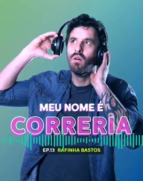 Um dos precursores do formato stand-up comedy no Brasil, o Correria da vez é o @rafinhabastos! No papo com o Thaíde, ele falou sobre o início da carreira, sobre seu trabalho como jornalista e também sobre sua atual fase na comédia. Corre no play: