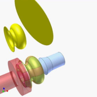 Spinning Undercut Objects
