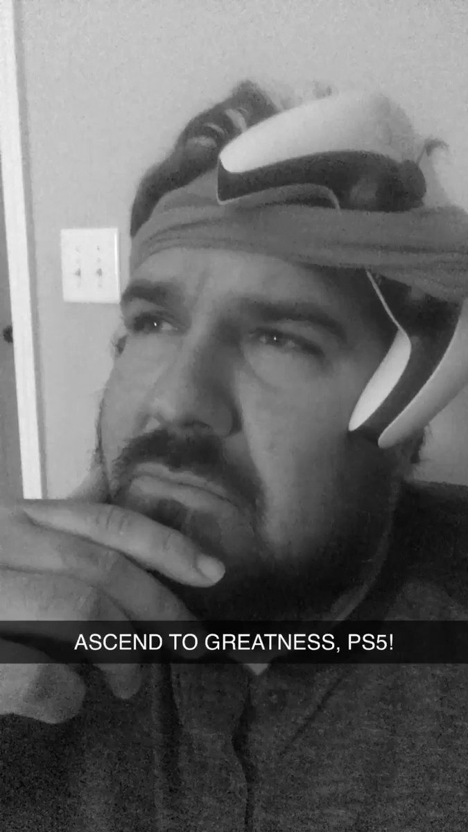 Tomorrow... THE #PS5 ASCENDS TO GREATNESS!!!! 😂