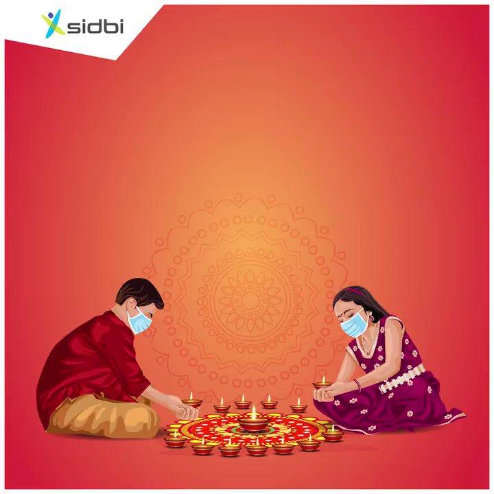 Remember to stay safe as the festive season draws closer. Don't be careless until there's a cure. #SafeDiwali #HappyDiwali #Diwali2020 #SIDBIsupportsJanAndolan #UniteToFightCorona #JanAndolan @DFS_India @FinMinIndia @MoHFW_INDIA @PMOIndia @WHO @thePHFI @NHPINDIA