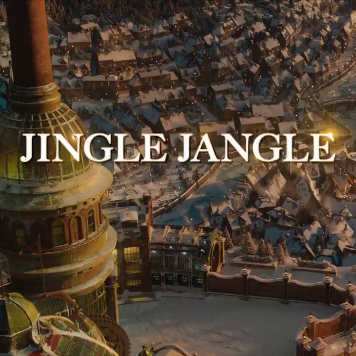 Jingle Jangle: A Christmas Journey is now streaming on @Netflix! #EverythingIsPossible @StrongBlackLead @NetflixFilm