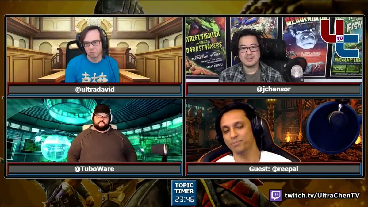 UltraChenTV - On this Tuesday Show, we discussed kustoms in UMK11, Tekken 7 S4's weird rollout, old school vs new school, whether top players share unifying attributes, & more  YouTube  Soundcloud   Special guest @Reepal likes Tekken's new netcode