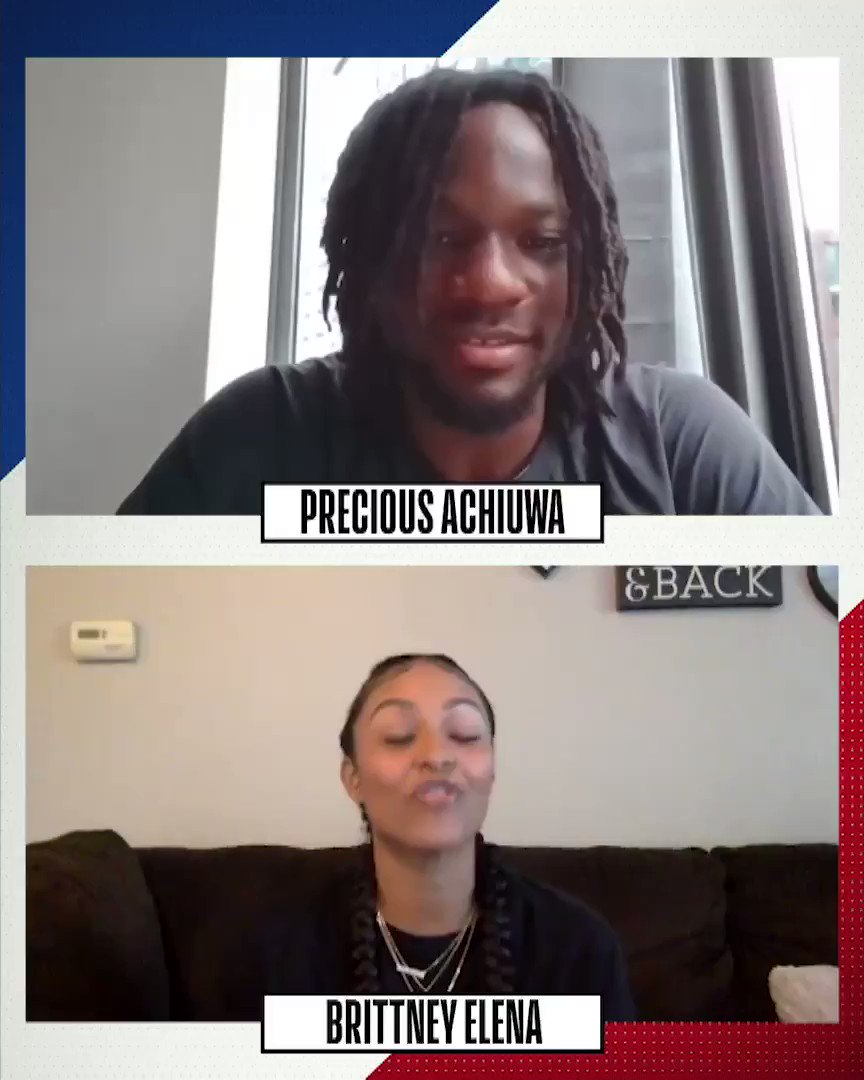 👀 #NBADraft prospect @PreciousAchiuwa's favorite shoes to hoop in!   2020 #NBADraft: Wednesday November 18th 8:00pm/et on ESPN. https://t.co/QAuNsLmtp6