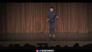I really like this guy @amitandon Perhaps, one of the most genuine stand ups.