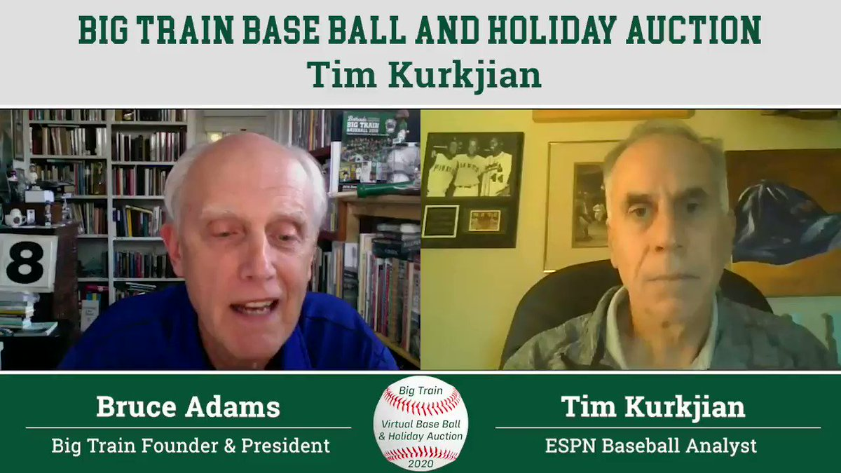 Tune in to our Holiday Auction Special tomorrow night to hear @Kurkjian_ESPN break down the 2020 MLB season, including the @RaysBaseball wild walkoff win in World Series Game 4.   Watch the full conversation with Tim Sunday night at 7 p.m. ET on https://t.co/aEZo41jIiz! https://t.co/NywfEz3L6w