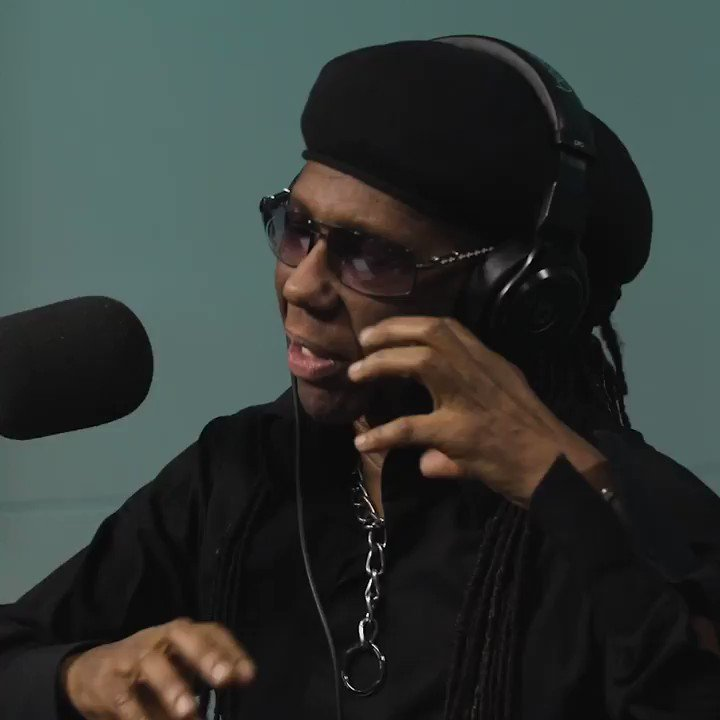 Was an honor to join the legend @nilerodgers on the latest episode of #DeepHiddenMeaning. Watch & listen now, only on @applemusic:   @juliamichaels  @RZA
