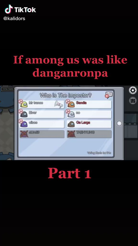 I LOVE this 😌❤️ #AmongUs #danganronpa #relate #ILoveThisGame #game