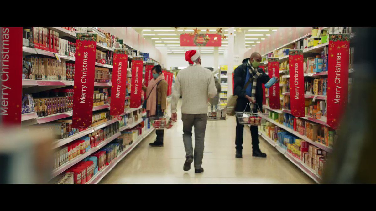 Christmas ads usually go one of three ways: escapist, cute or sentimental.   So for @Tesco this year, we embraced the madness that has been 2020. And hopefully got a laugh or two.  #TescoNoNaughtyList