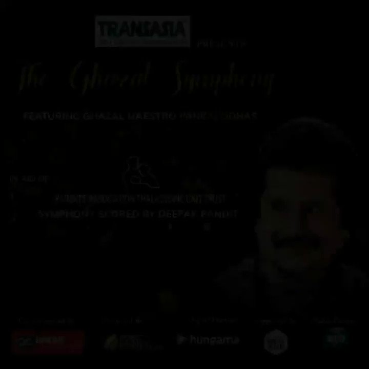 @SingerHariharan sends his good wishes for the #TheGhazalSymphony @Pankajkudhas @DeepakPandit72   Join us for a musical evening on NOV 21 and show your support for the welfare of Thalassemic children.  Donate: