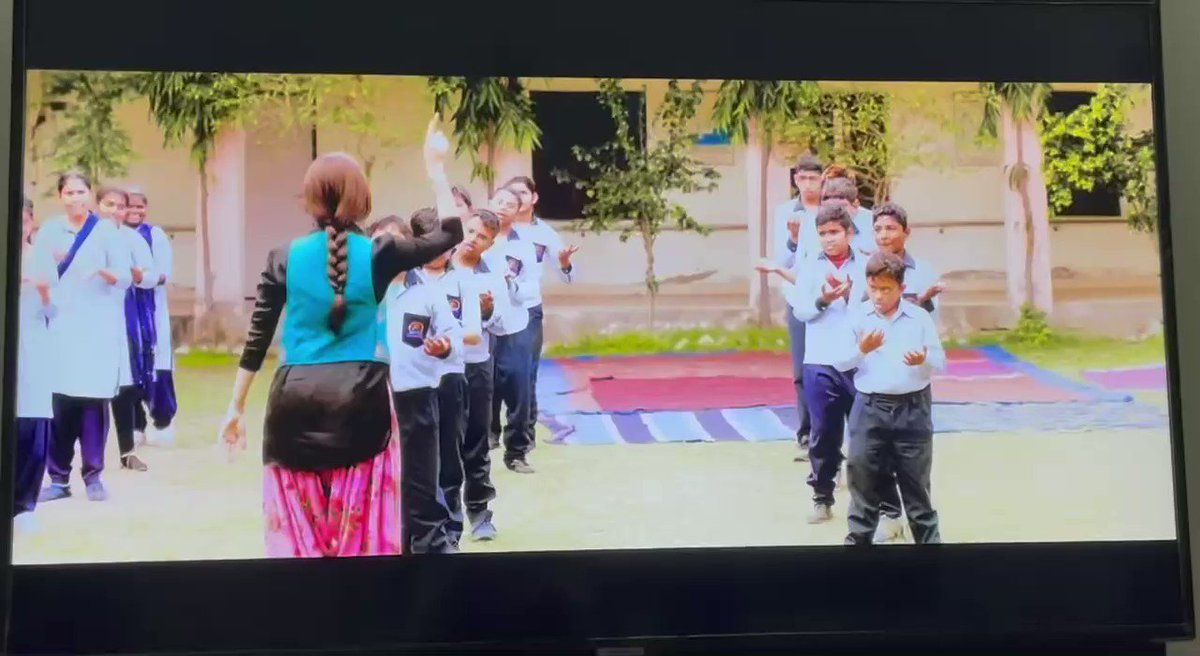 Heartening & proud feeling to see the specially-abled talented kids of #Savera School #Jhajjar perform in the movie @ChhalaangFilm . May God bless the little stars with happiness in their lives 🙏🏻 @mlkhattar @RajkummarRao @Nushrratt @ajaydevgn @luv_ranjan @gargankur @mehtahansal