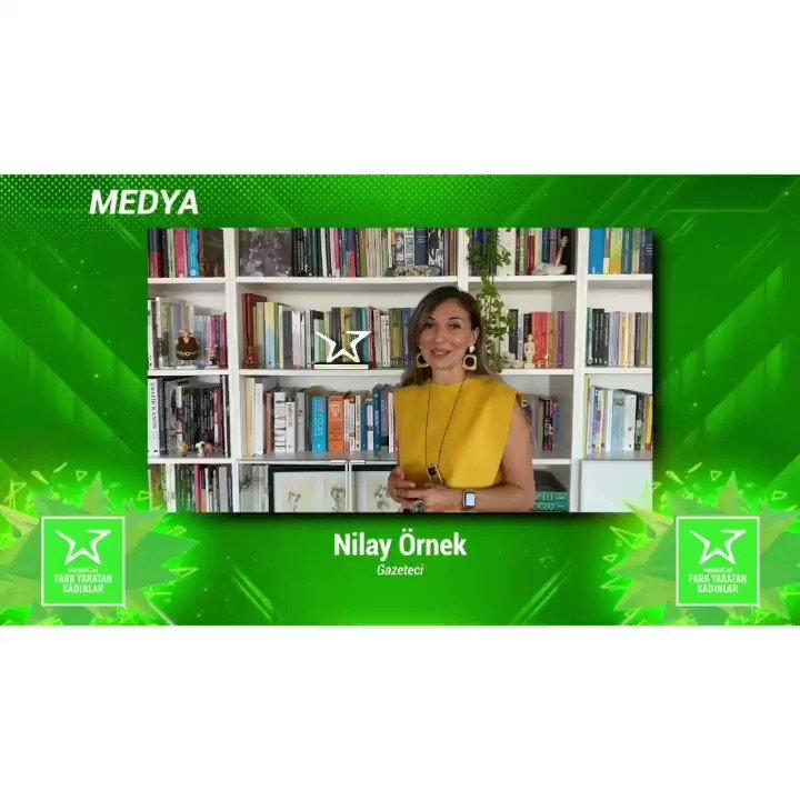 Bu seneki medya kategorisinde Fark Yaratan Kadınlarımızdan olan Nilay Örnek ödülüyle ilgili bizlere neler anlatmış? Haydi birlikte hatırlayalım🌟 @nilayornek  #FarkYaratanKadınlar #BrandWeek2020