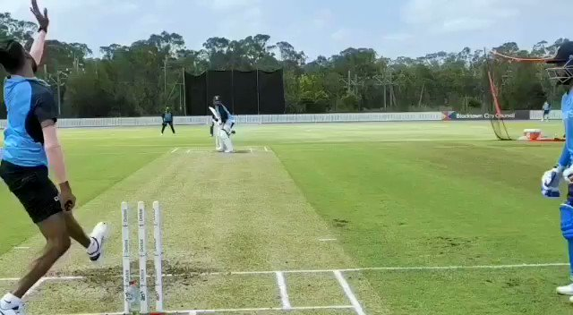 Love test cricket practice sessions ❤️💙