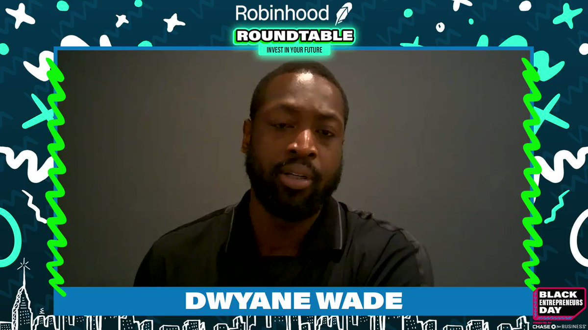 We spoke to @DwyaneWade and he shared with us how when he went from college to the NBA it was critical for him to learn financial intelligence in a hurry after signing his multi-million dollar deal.