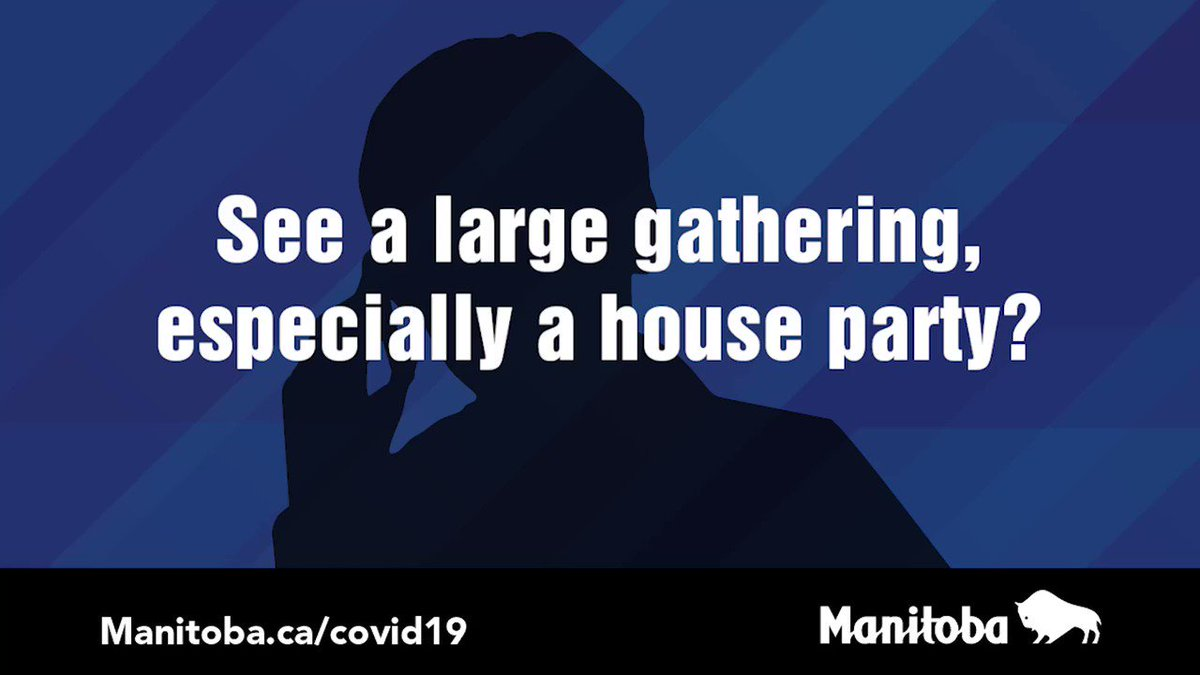 We're all a part of #TeamManitoba – if you see something, say something. Voice your concerns & share informationby calling our #COVID19MB Tip Line at 204-945-3744 or 1-866-626-4862 (toll-free) and pressing option three.