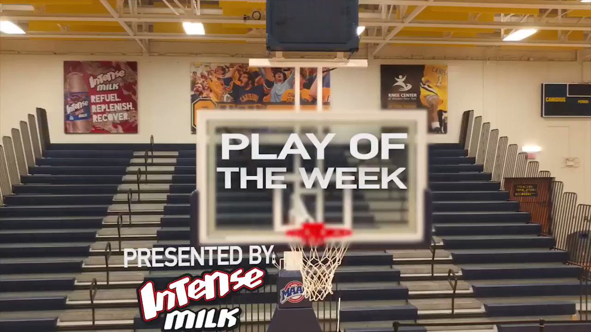 """Our @intensemilk """"Play of the Week"""" rewind highlights the game-winning basket by @Griffs_MBB forward Jacco Fritz in an 83-81 victory over Bucknell last November at the Koessler Athletic Center!   #Griffs https://t.co/BTrIlgq3Y1"""