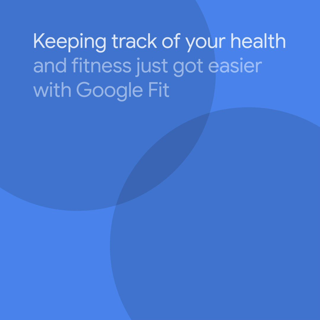 It's now even easier to keep track of all your wellness info in #GoogleFit. Get more tips on how to live a healthier and more active life with new updates to Google Fit and Wear OS →