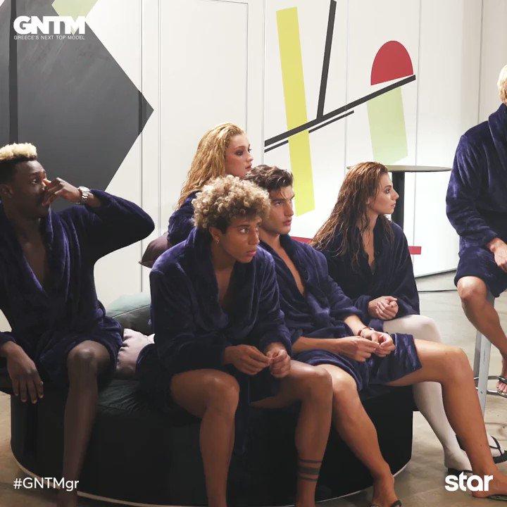 Ο διάβολος κρύβεται στις λεπτομέρειες στο #GNTMgr. Οι καλεσμένοι προσπάθησαν να αποσπάσουν την προσοχή των μοντέλων. Τα αγόρια και τα κορίτσια, όμως, κράτησαν τον έλεγχο, δίνοντας sexy και premium πόζες με τα εσώρουχά τους. #GNTMgr #StarChannelTv @StarChannelGr @genevievemajari