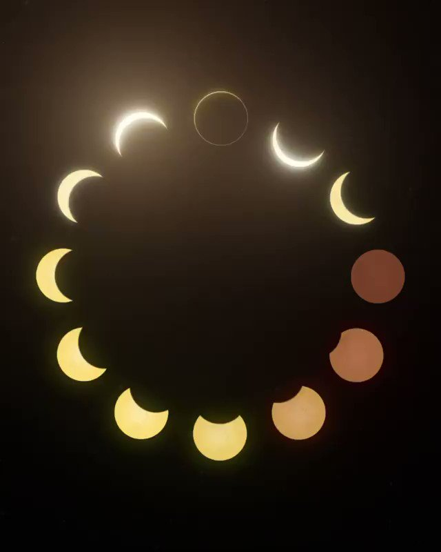 Moon phases. Cant stop watching