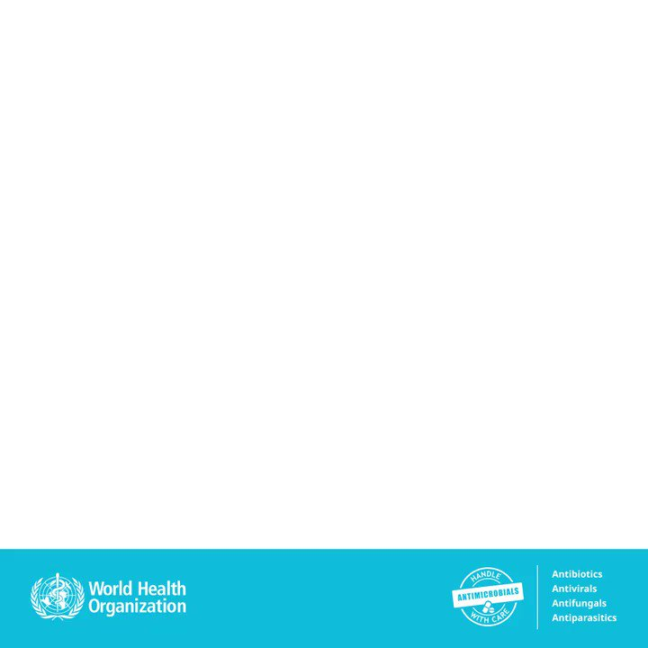 Image for the Tweet beginning: It's World Antimicrobial Awareness Week  The