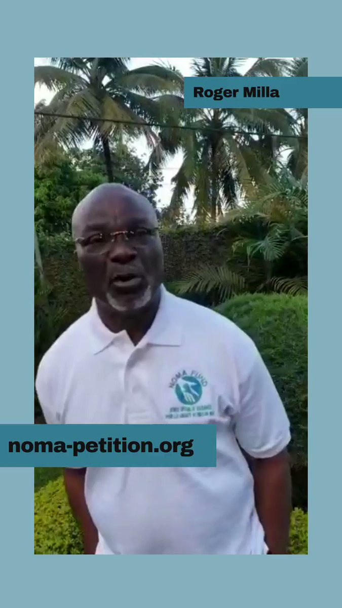 Sign the petition ! 🤜🤛  Help us fight the Noma disease by signing the petition :  @roger_milla_9  #nomadisease #rogermilla #nomafund #petition #HelpUsHelpYou