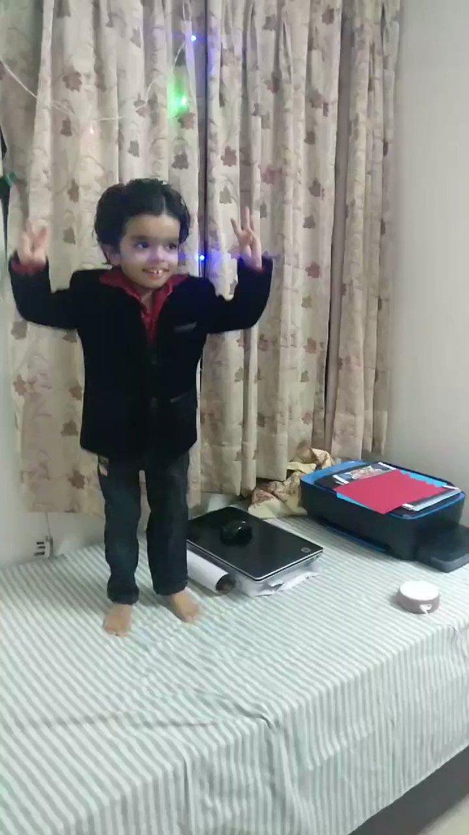 My 3 year old son singing and dancing on Burj khalifa song !  @foxstarhindi @akshaykumar #burjkhalifasong #Laxmii #DisneyPlus #DisneyPlusHotstarMultiplex #disneyhotstar #AkshayKumar #Akkians #akki #bollywood #burjkhalifa #Dubai #FoxStarStudios @DisneyplusHSVIP